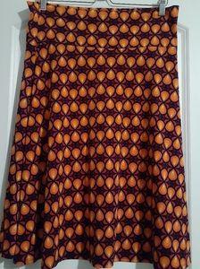 EUC Lularoe Azure Patterned Skirt!